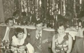 Od lewej R. Janik, W. Balawejder, K. Balawwejder, M. Biały