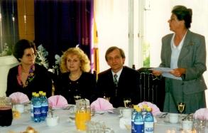 Od lewejM. Biały, M. KOszyk, K. Balawejder, I. Szawan - lata 70-te